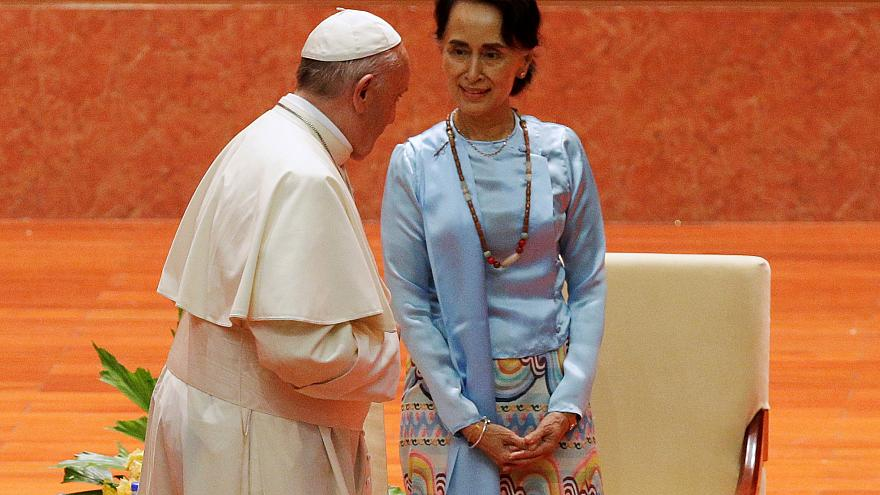 Rohingyas : la prudence du pape