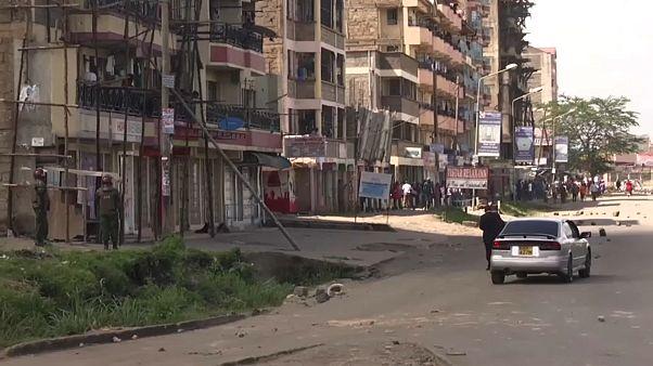 Разгон оппозиционеров в Найроби