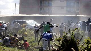 Kenya: tear gas fired at memorial for opposition supporters