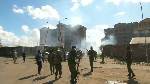 Кения: беспорядки во время инаугурации президента