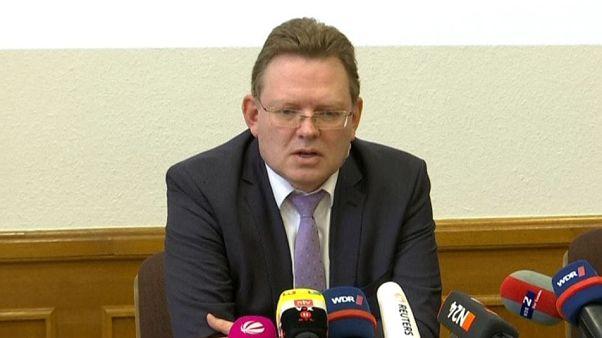 Andreas Hollstein in questo screenshot del video della conferenza stampa