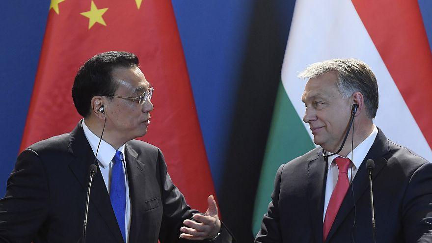 Orbán Viktor miniszterelnök és Li Ko-csiang kínai kormányfő