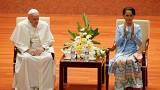 "Papa evita termo ""rohingya"" na visita a Myanmar"