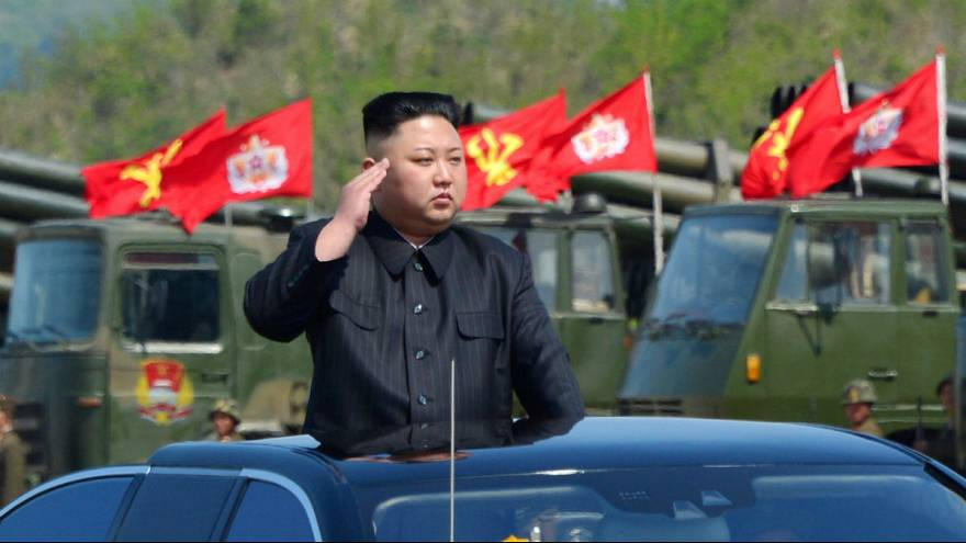 North Korea 'fires ballistic missile' that landed close to Japan