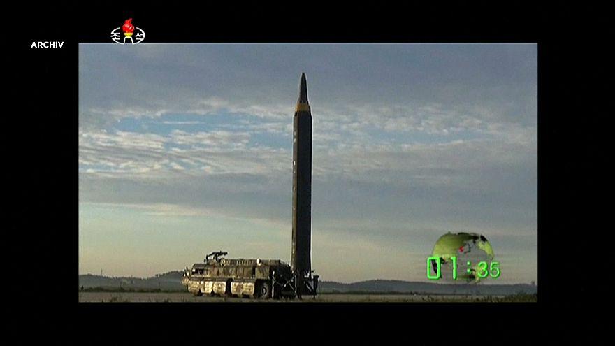 Nordkorea startet wieder eine ballistische Rakete