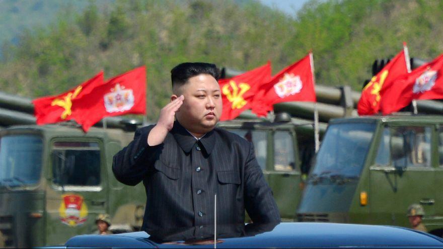 Kim Jong-un terá ordenado o ensaio de um novo míssil na Coreia do Norte