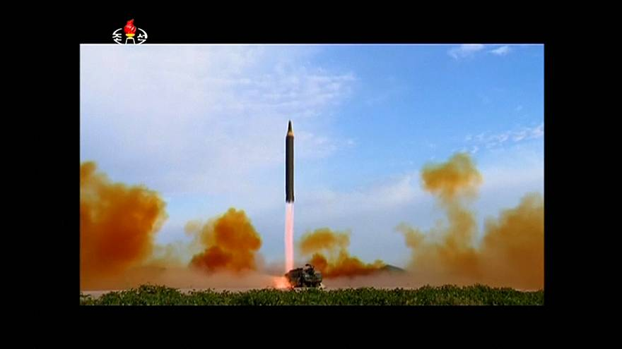 North Korea launches new ballistic missile 'capable of striking US'