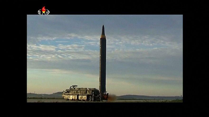 Pyongyang a testé un nouveau type de missile