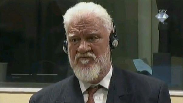 Croatian war criminal Slobodan Praljak dies after taking poison in court