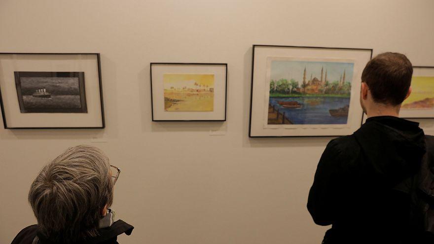 Guantanamo tutuklularının çizimlerinin sergilenmesi tepki çekti