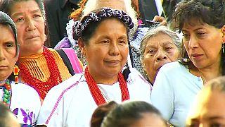 Marichuy, aspirante indígena a la presidencia de México