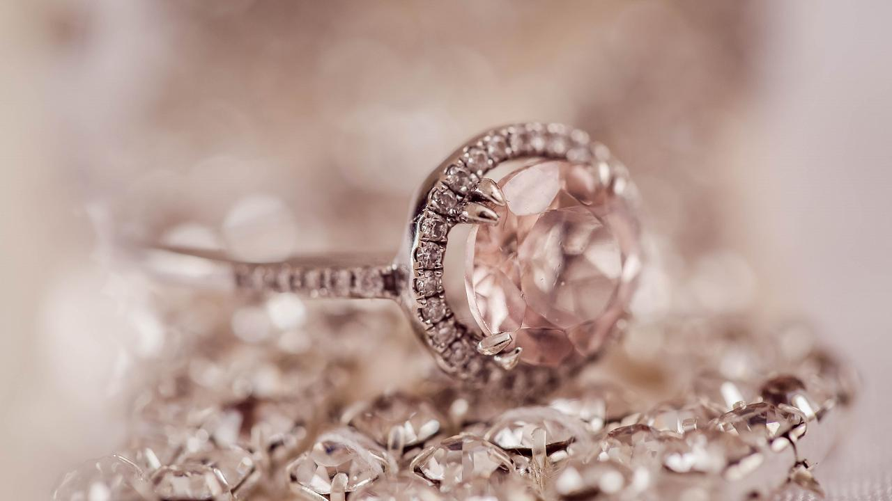 Pink diamonds are extremely rare