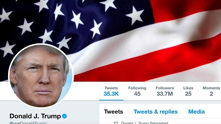 Trump, Müslümanlara ait olduğu belirtilen şiddet görüntülerini paylaştı