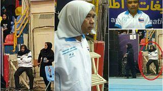Iran, allenatore di nazionale femminile si cammuffa da donna per seguire la squadra