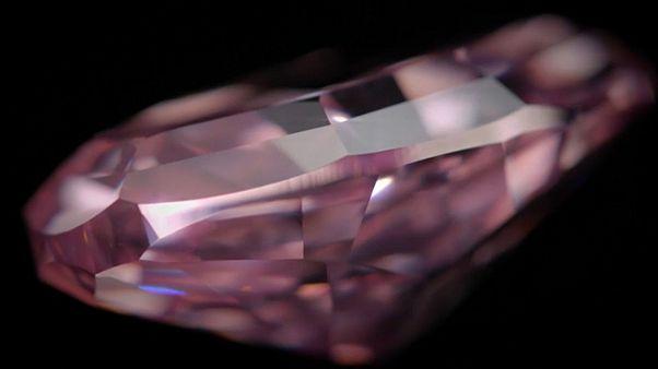 Elkelt a pink gyémánt