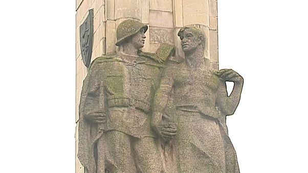 В Щецине снесли памятник Красной Армии