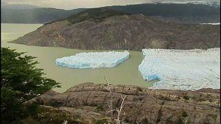 Ein Teil des Grey-Gletschers in Chile ist abgebrochen.