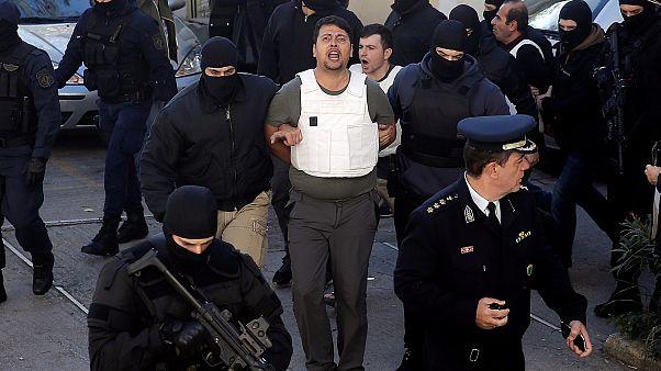 Ένας εκ των συλληφθέντων Τούρκων