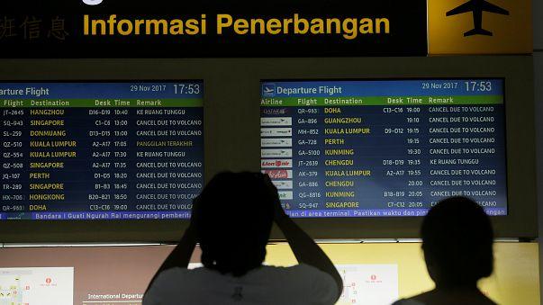 Bali: Flugbetrieb läuft wieder an