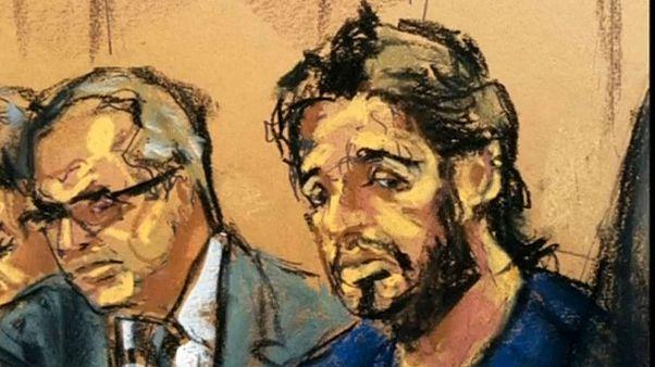 تصویری از دادگاه رضا ضراب/ رویترز