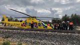 Andalusien: 27 Verletzte bei Zugunglück