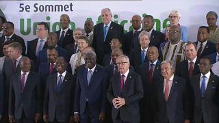 EU-Africa summit leaders back migrant evacuation from Libya
