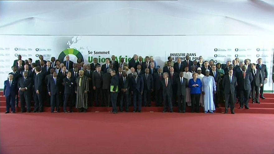 A imigração impôs-se na cimeira entre a União Europeia e a União Africana