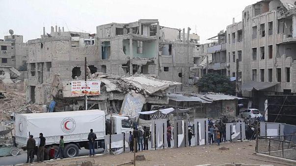 Syrische Regierung erscheint zu Friedensgesprächen in Genf