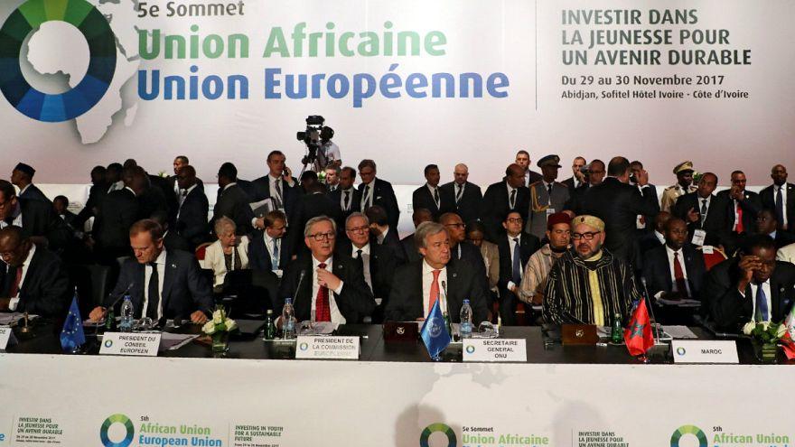 AB-Afrika Birliği Zirvesi'nde gündem göç krizi