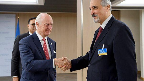 Suriye krizine Cenevre'de çözüm aranıyor