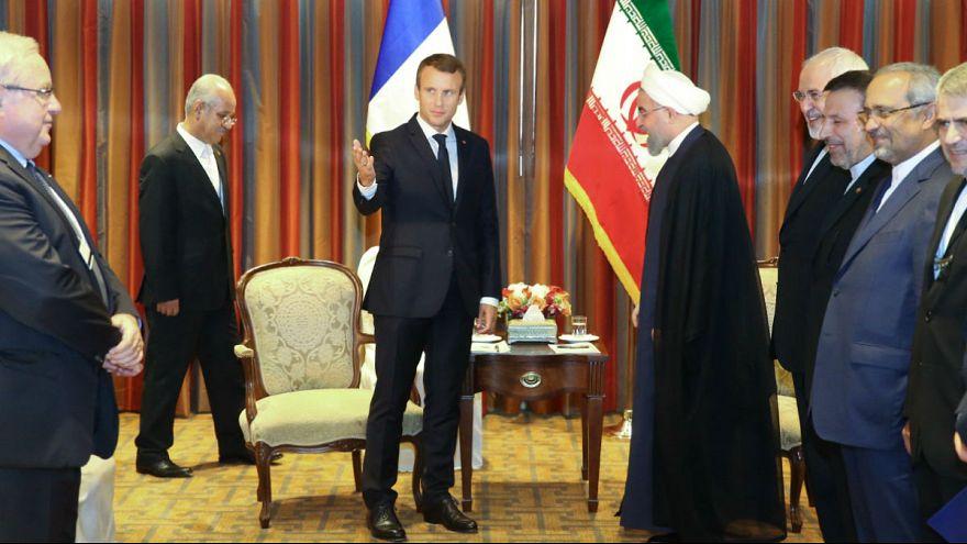 مکرون: ایران متحد فرانسه نیست و برنامه موشکی بالستیکی ایران نیاز به بررسی دارد