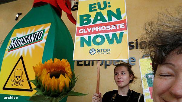 Manifestation contre le glyphosate de Monsanto