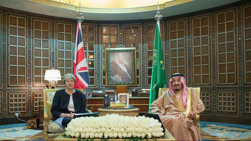 چرا ترزا می به عربستان سعودی رفت؟