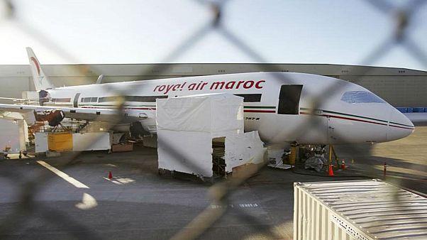 مختل عقليا يخرب طائرة أميرة مغربية