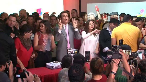 Honduras: Nasralla denuncia fraude en las presidenciales