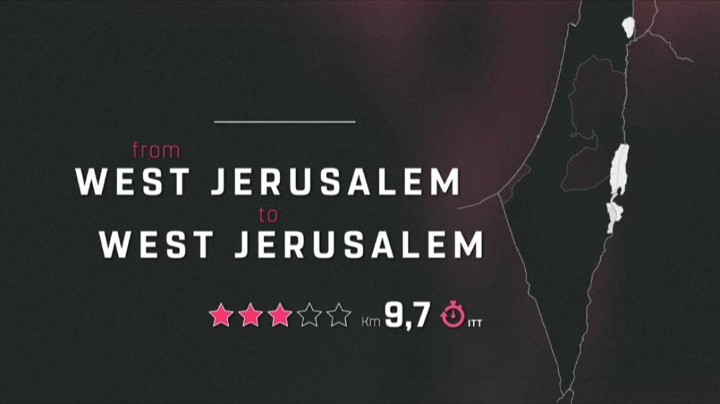 Jerusalém gera polémica na apresentação do Giro 2018