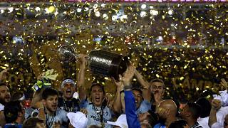 Grêmio faz história na Argentina e é tri na Libertadores