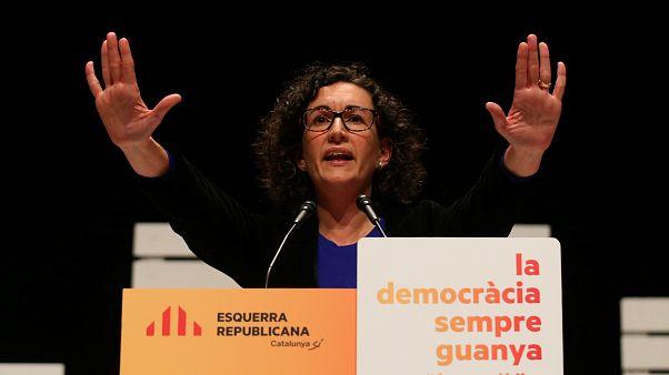 Marta Rovira, la chef de file de la gauche radicale (ERC)