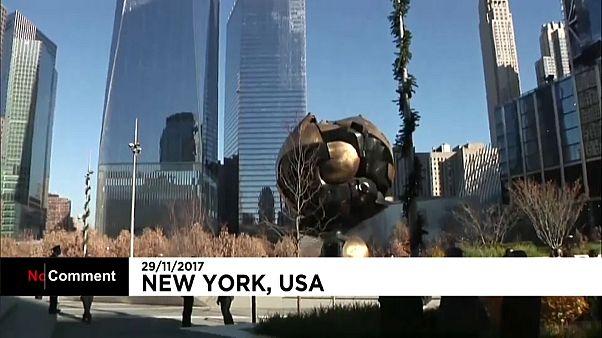 """Нью-Йорк: """"Сфера"""" возвратилась на прежнее место"""