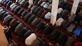Foto di una moschea a Belgrado