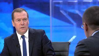 Медведев о санкциях, Трампе, Навальном и Путине