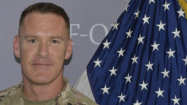 کلنل رایان دیلان سخنگوی ائتلاف بین المللی به رهبری آمریکا علیه داعش