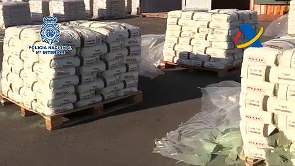 Οι ισπανικές αρχές κατέσχεσαν τεράστιο φορτίο ηρωίνης