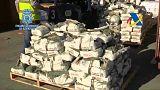 Drogenfund im Hafen von Barcelona