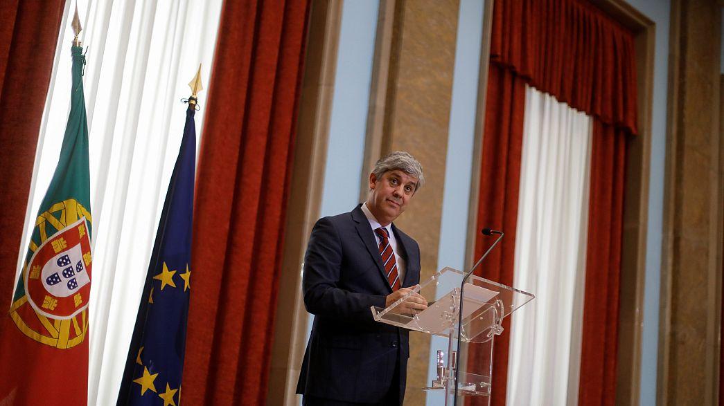 Centeno candidato à presidência do Eurogrupo