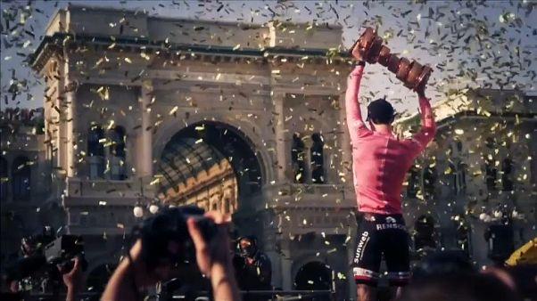 """Giro d'Italia """"West Jerusalem"""" climb down"""