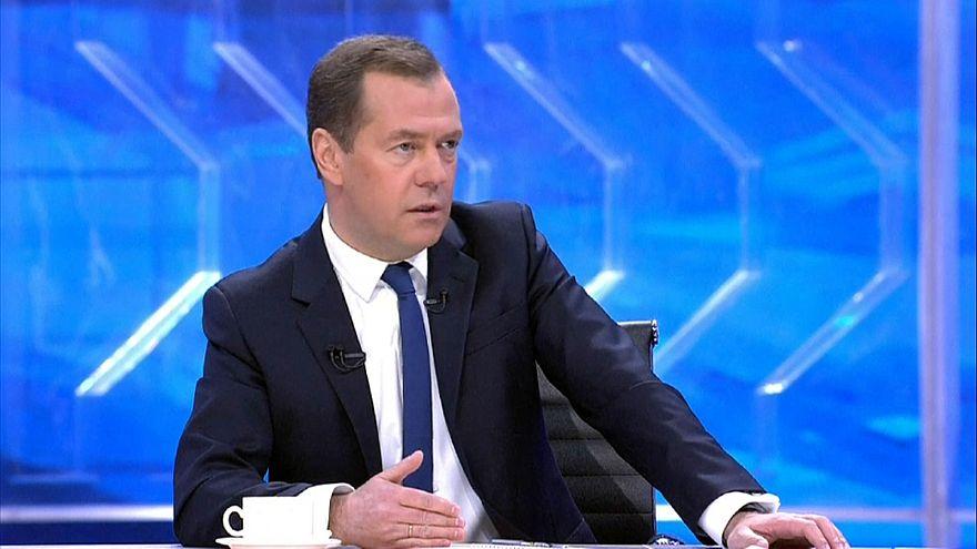 Rusya Başbakanı Medvedev gündemi değerlendirdi