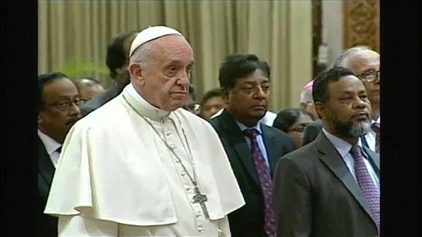 Papst in Bangladesch
