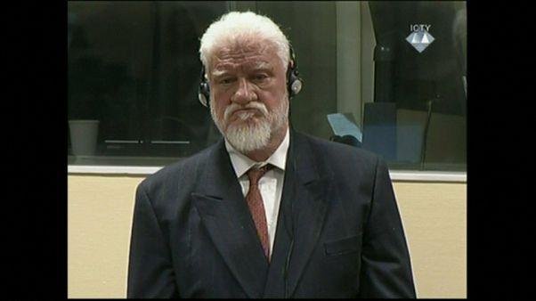 Slobodan Praljak avant son suicide présumé