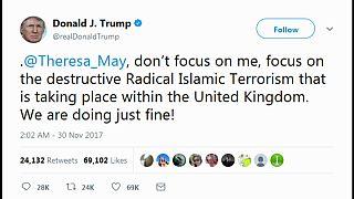 Un tweet incendiaire « à la Trump »